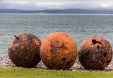 Rusty buoys